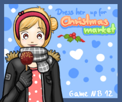 Dress her up for Christmas Market