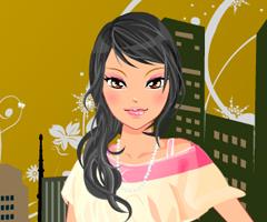 Urban Princess Dress Up Game