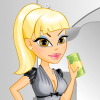 Charming Bank Teller