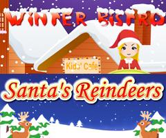Winter Bistro and Santa's Reindeers