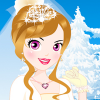 Lovely Winter Bride Dress Up