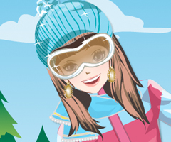 Snowboard Girl Dress Up