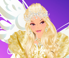Winter's Angel Dress Up