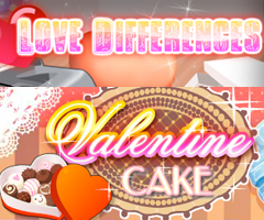 Love Differences and Valentine Cake