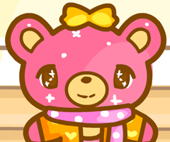 Glitter Bear Dress Up