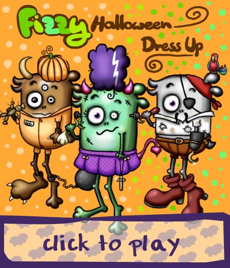 Games NB 11 Fizzy Halloween Dress Up