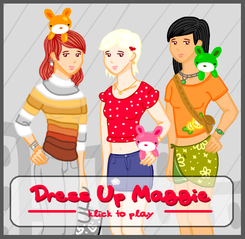 Game NB 06 Dress Up Maggie