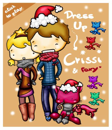 Game NB 08 Dress Up Chrissi & Foxy