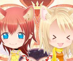 Kingdom Hearts Namine And Kairi Anime Chibi Kairi  amp Namine Dress Up