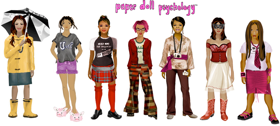 gurl paper doll psychology