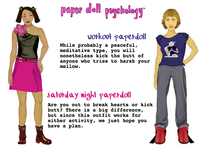 gurl psychology paper doll