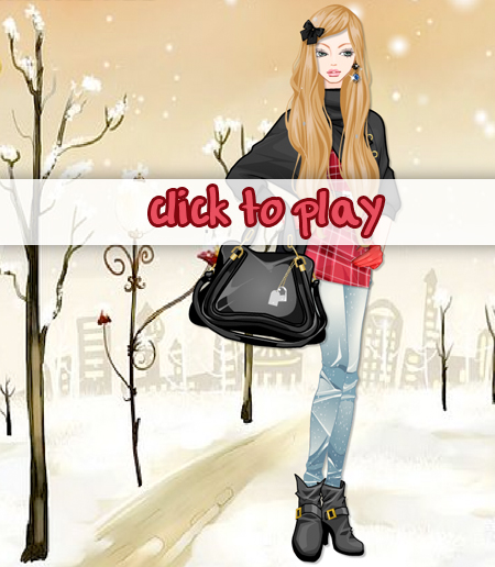 Play winter fashion dress up