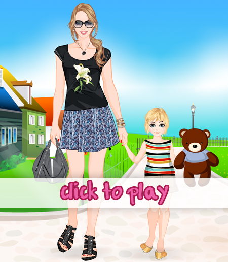 stylish_mom_and_daughter_dressup