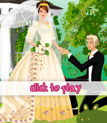 My Romantic Victorian Wedding Dress Up | PinkBunnyLilli